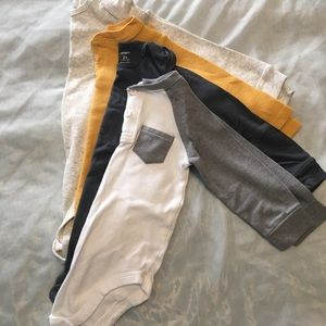 Other - Mixed Brand Long Sleeve Onesie Lot